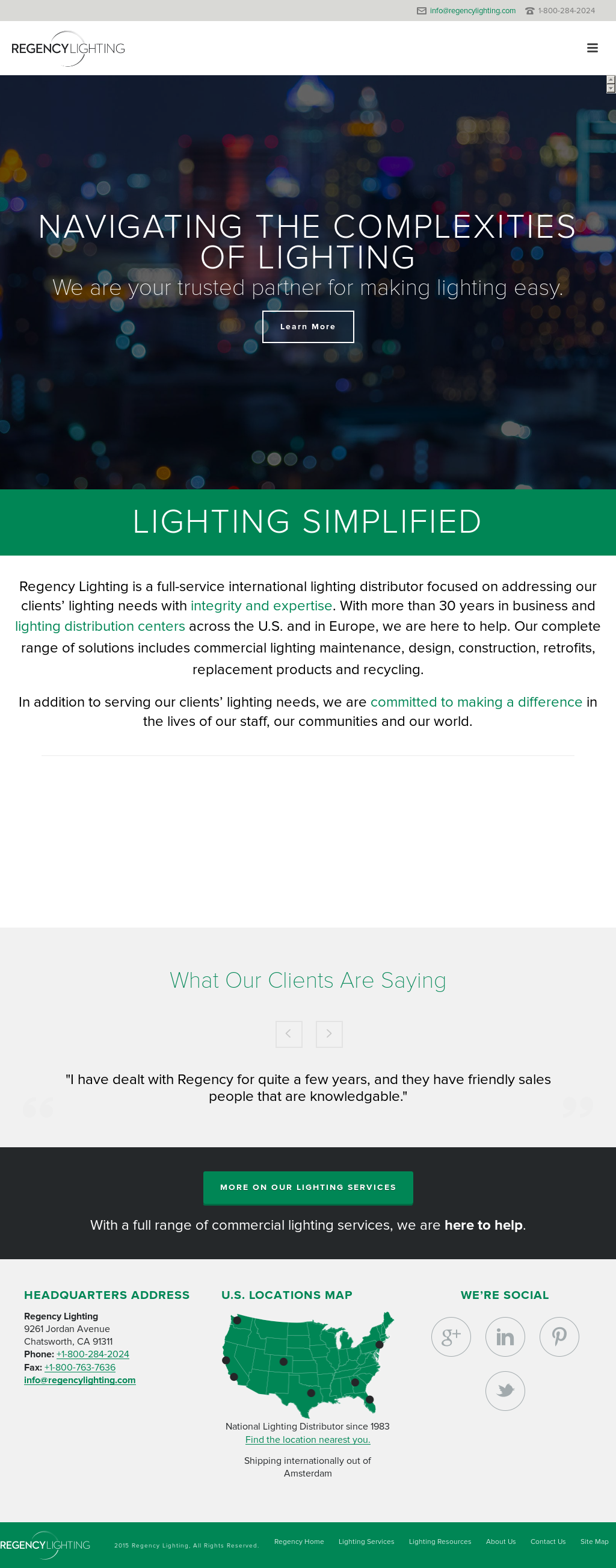 Regency Lighting Compeors Revenue And Employees Owler