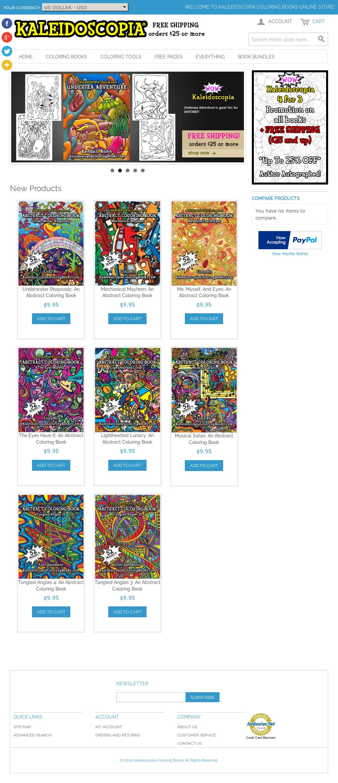 Kaleidoscopia Coloring Books Competitors, Revenue and ...