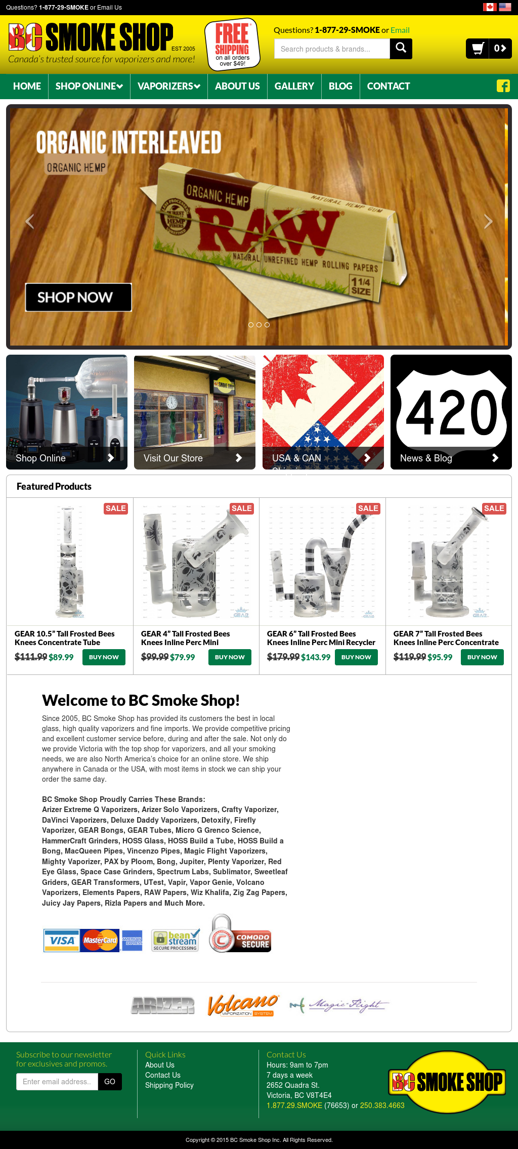 Bc Smoke Shop Competitors, Revenue and Employees - Owler Company Profile
