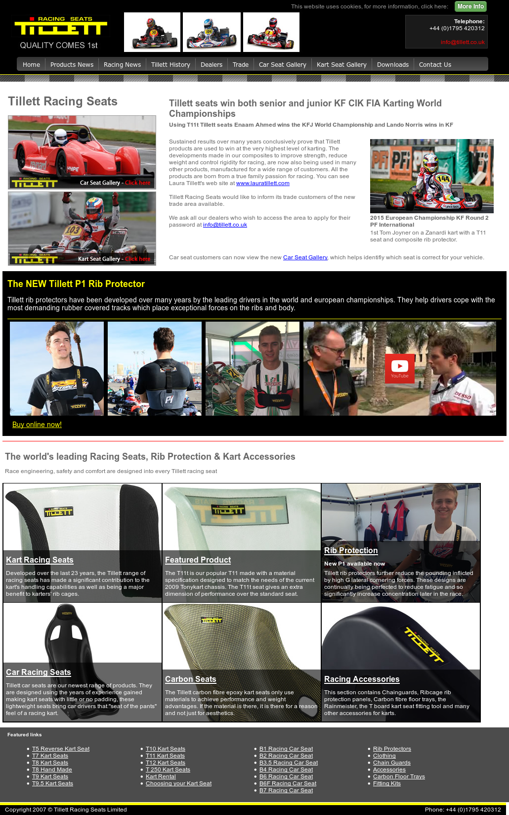 Tillett Racing Seats Competitors, Revenue and Employees