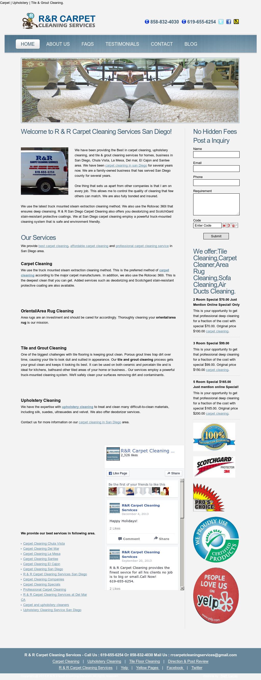 R & R Carpet Cleaning Services Competitors, Revenue and Employees - Owler Company Profile