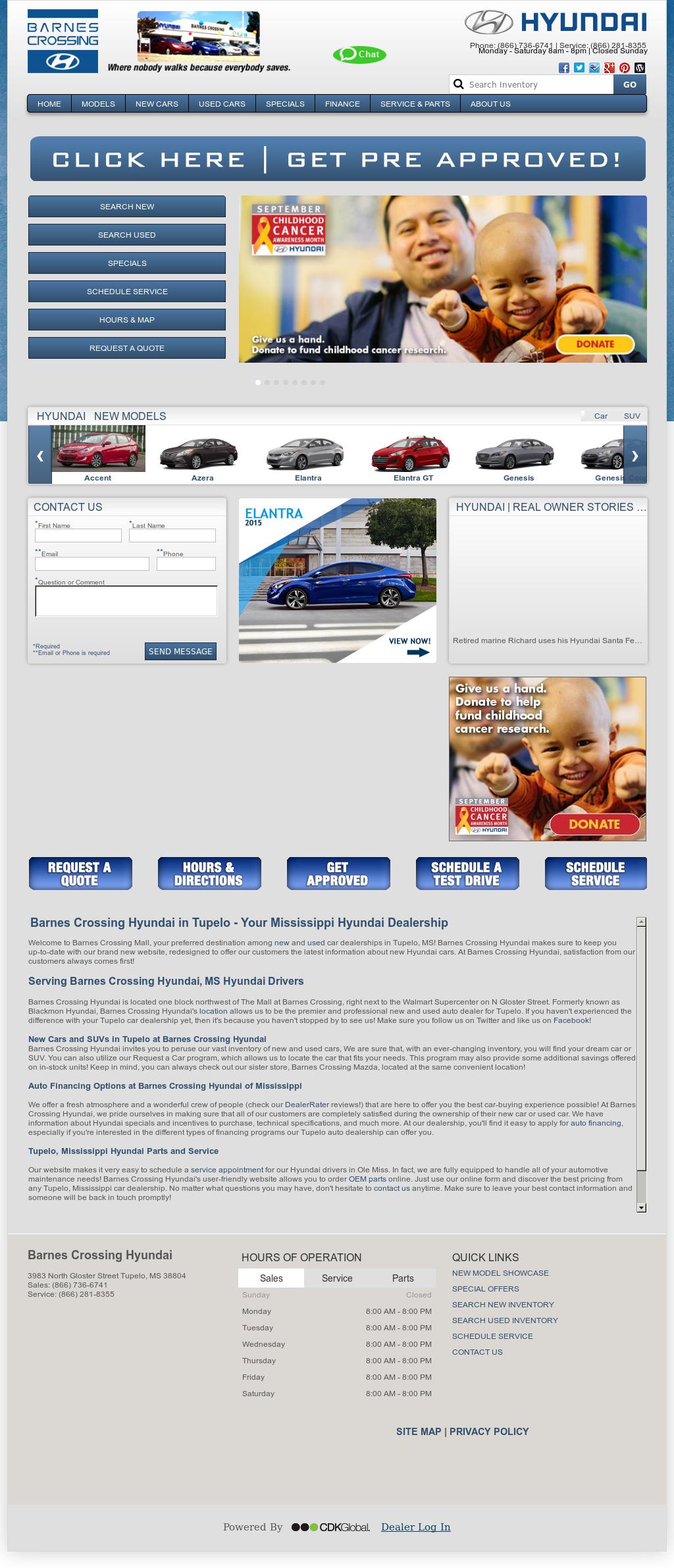 Barnes Crossing Hyundai Tupelo Ms >> Barnes Crossing Hyundai Mazda Competitors Revenue And