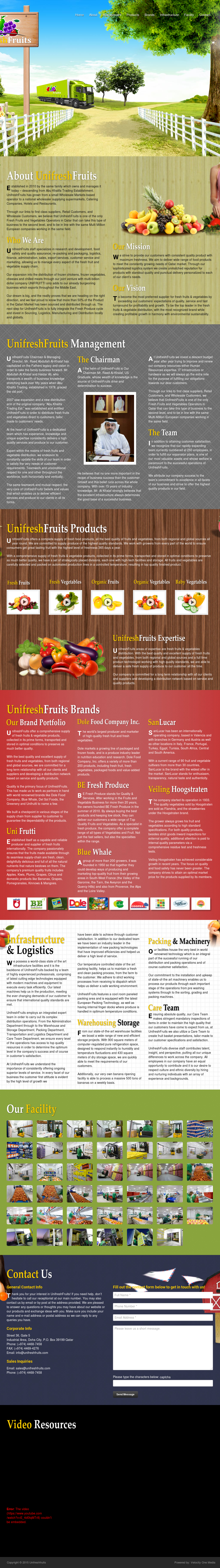 Unifresh Fruits Competitors, Revenue and Employees - Owler Company
