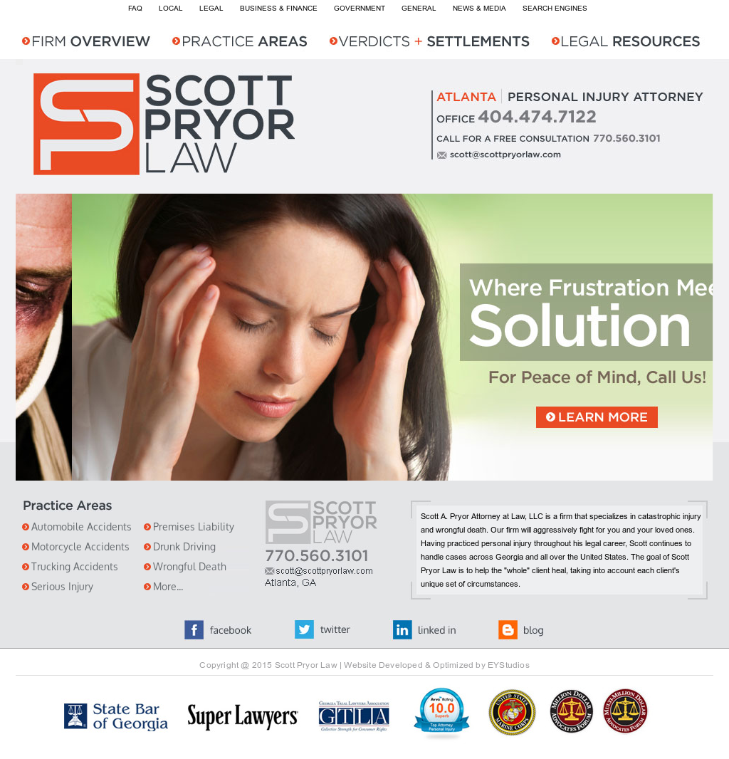 Scott A  Pryor, Attorney At Law Competitors, Revenue and Employees