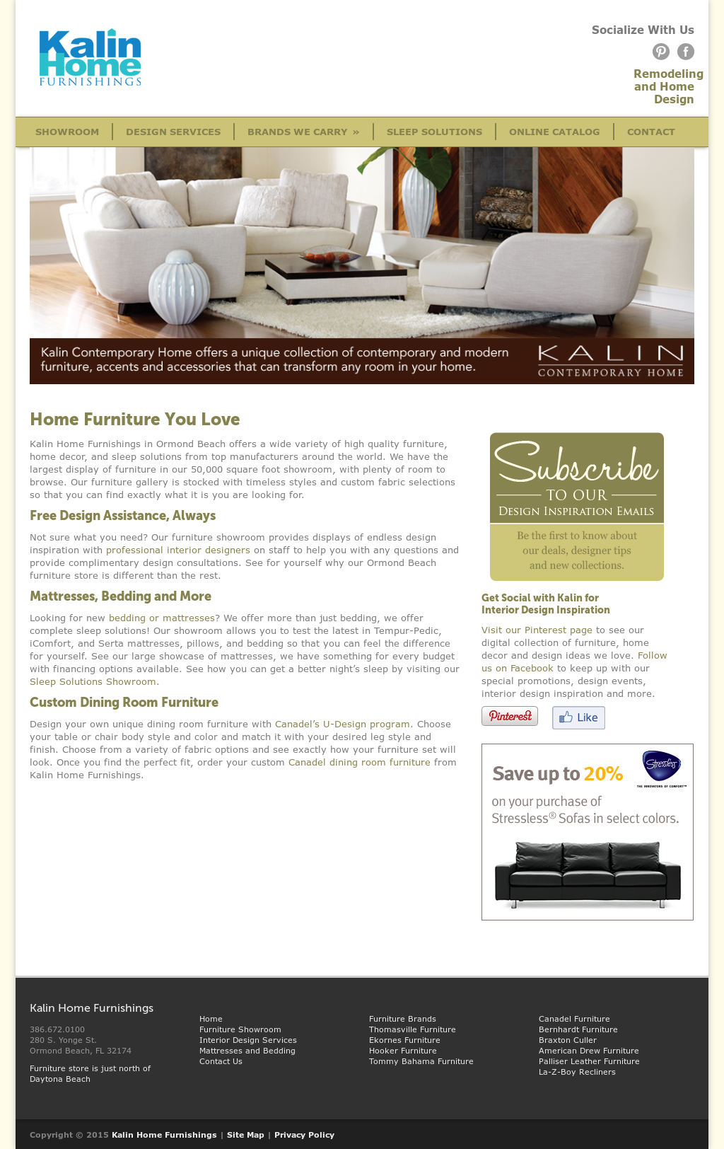 Kalin Home Furnishings Compeors Revenue And Employees Owler Company Profile