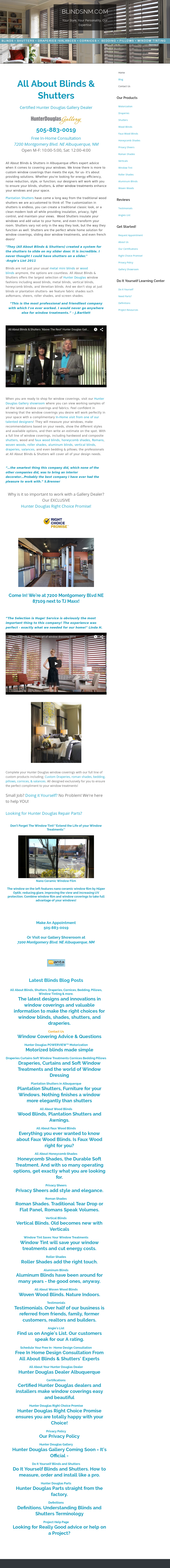 All About Blinds And Shutters Compeors Revenue Employees Owler Company Profile