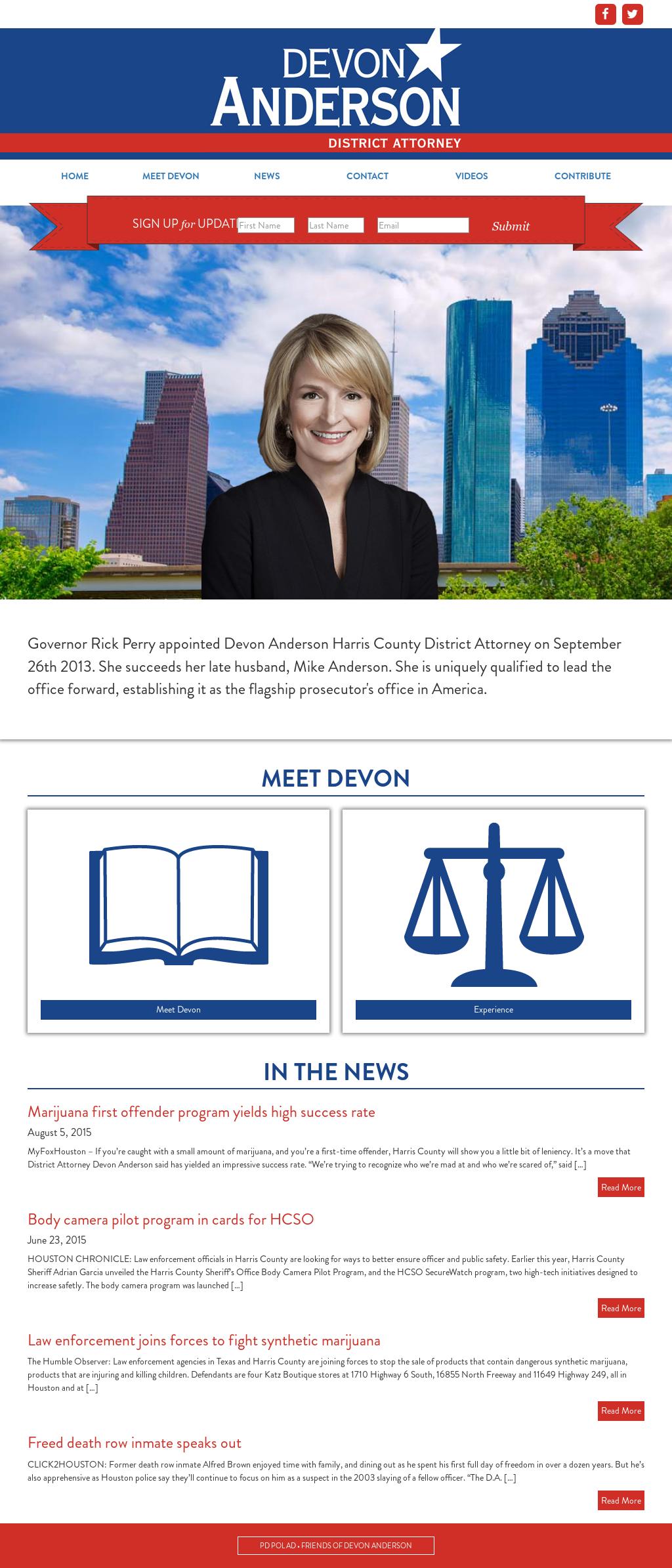Devon Anderson Harris County District Attorney Competitors, Revenue