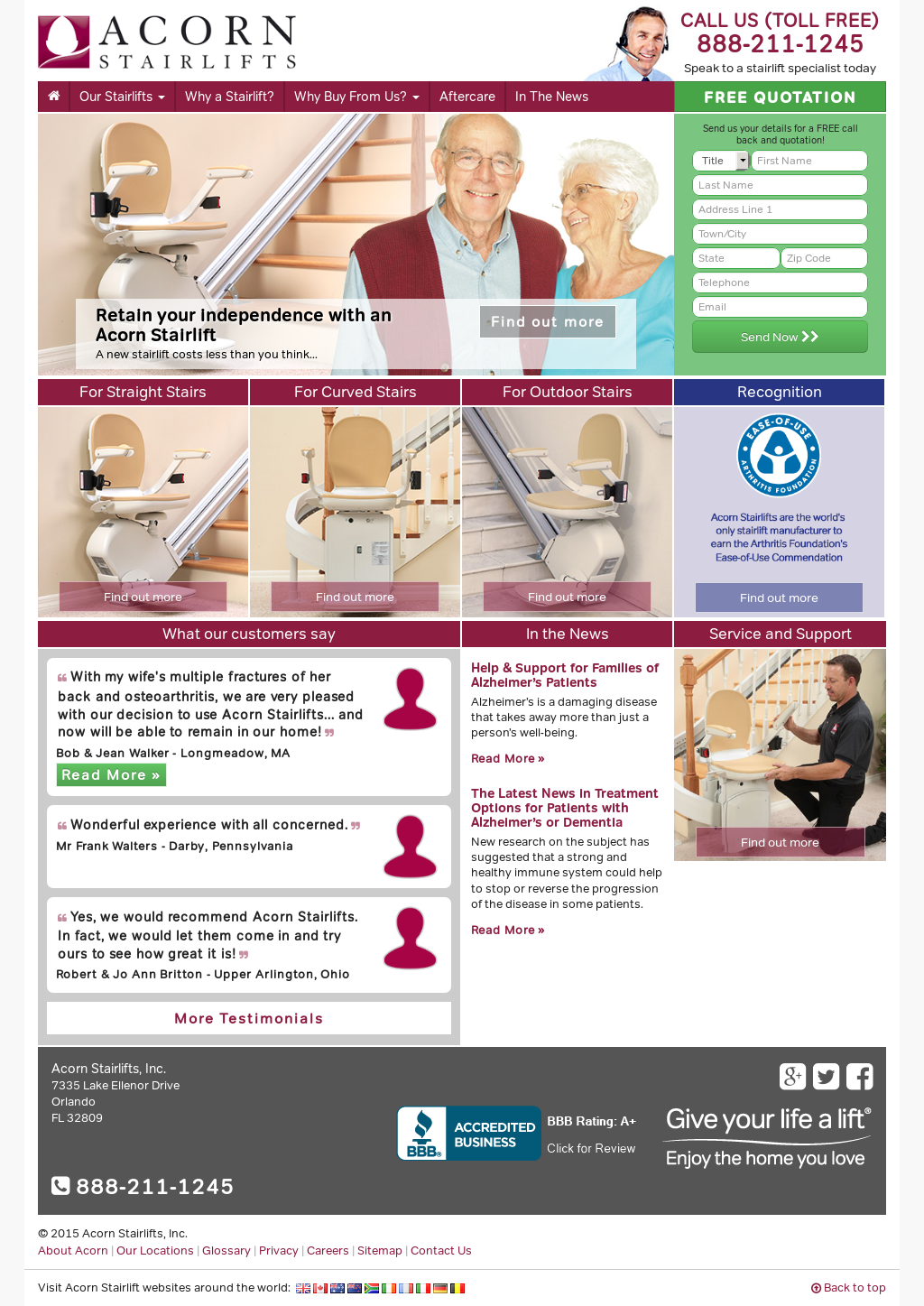 Perfect Acorn Stairlifts Competitors, Revenue And Employees   Owler Company Profile