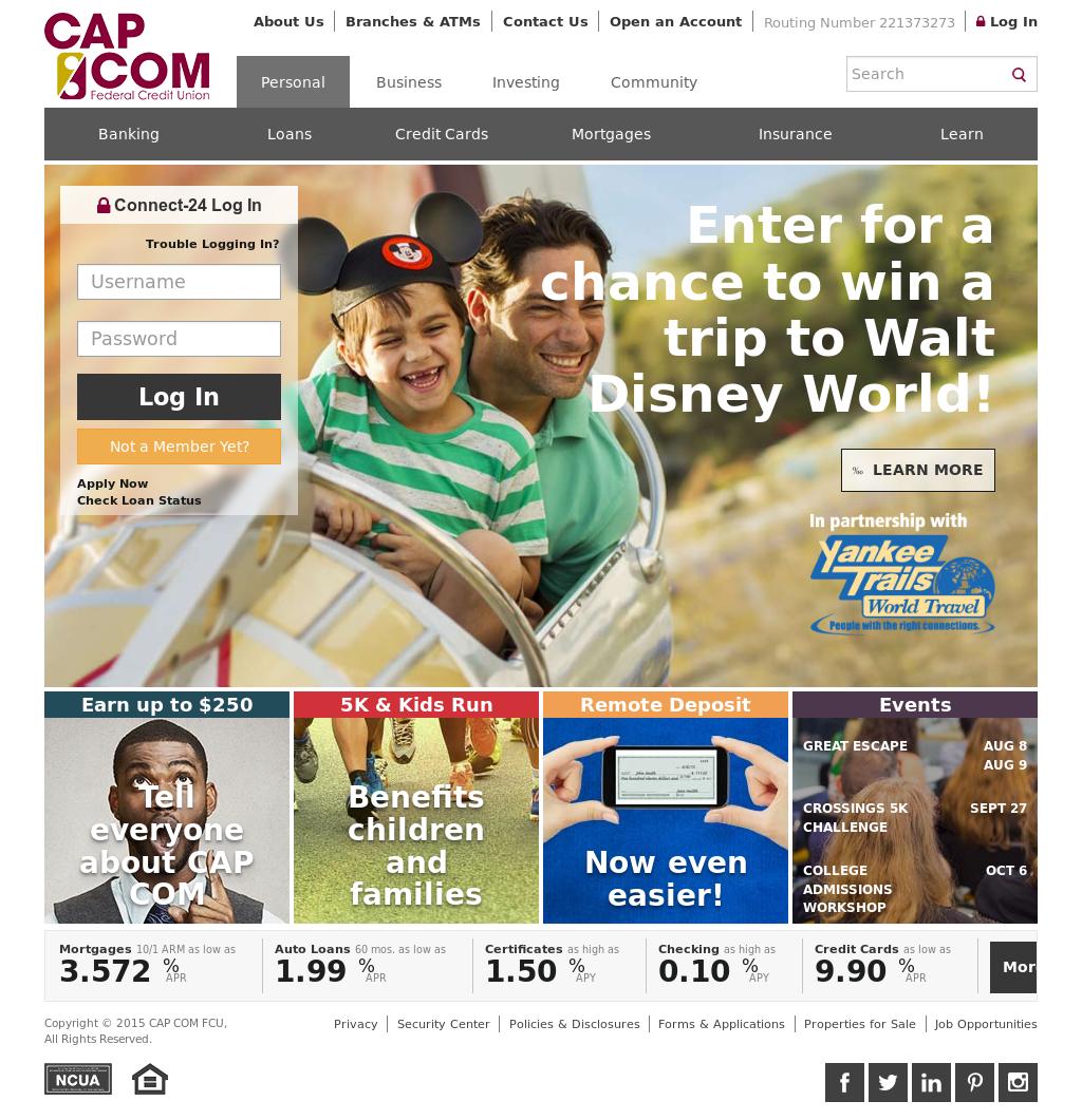 CAP COM Federal Credit Union Competitors, Revenue and