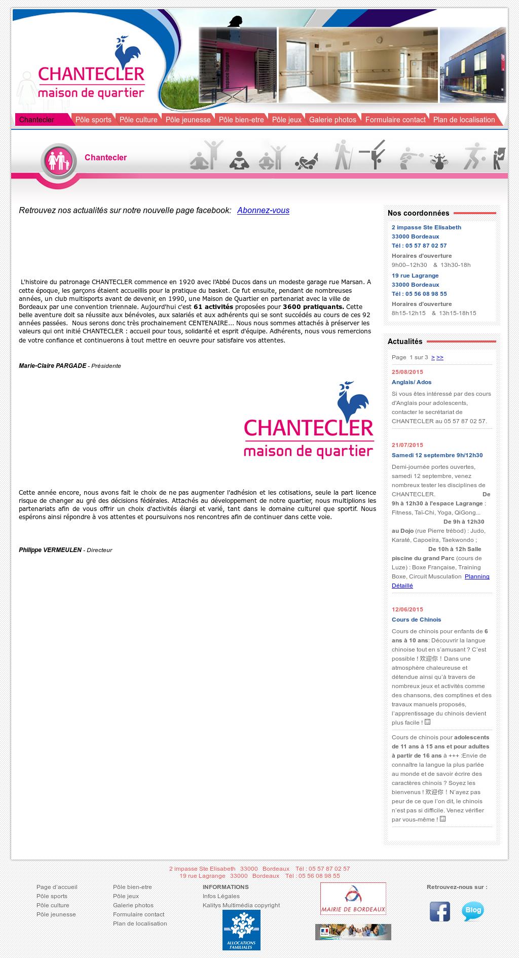 Maison De Quartier Chantecler Competitors Revenue And Employees