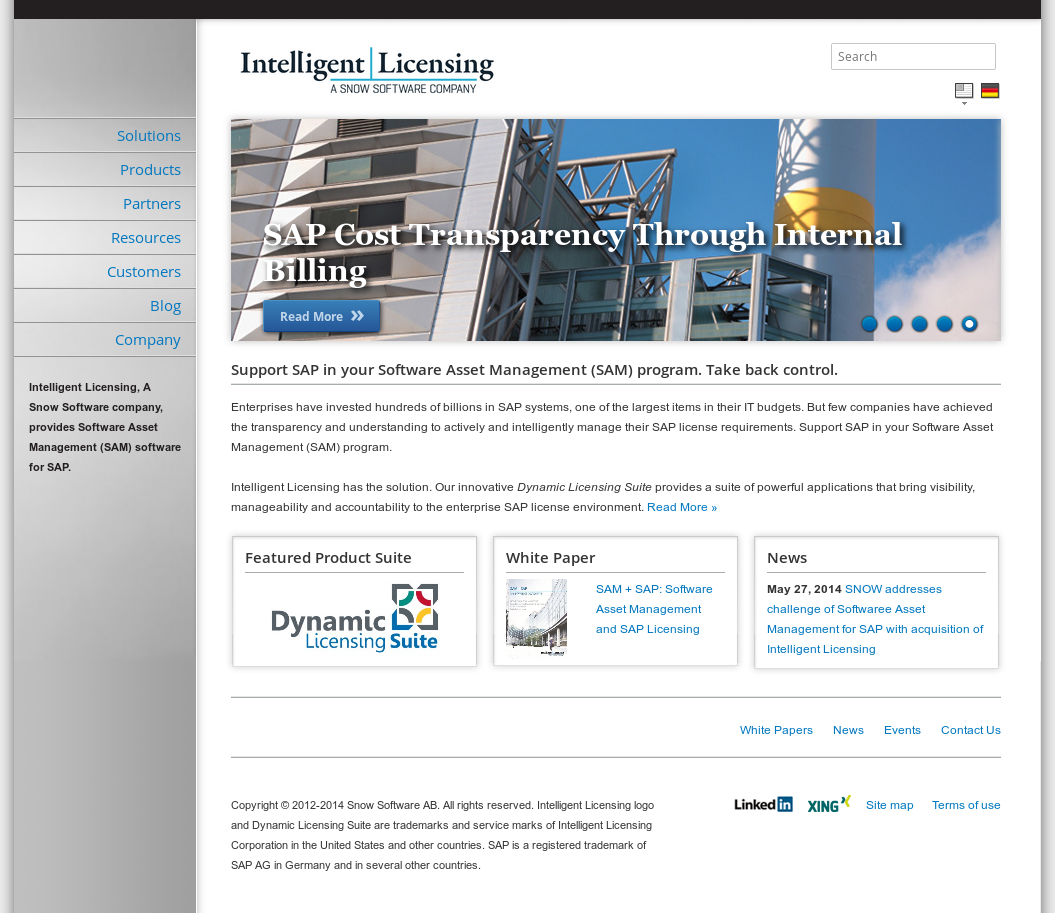 Intelligent Licensing Competitors, Revenue and Employees - Owler