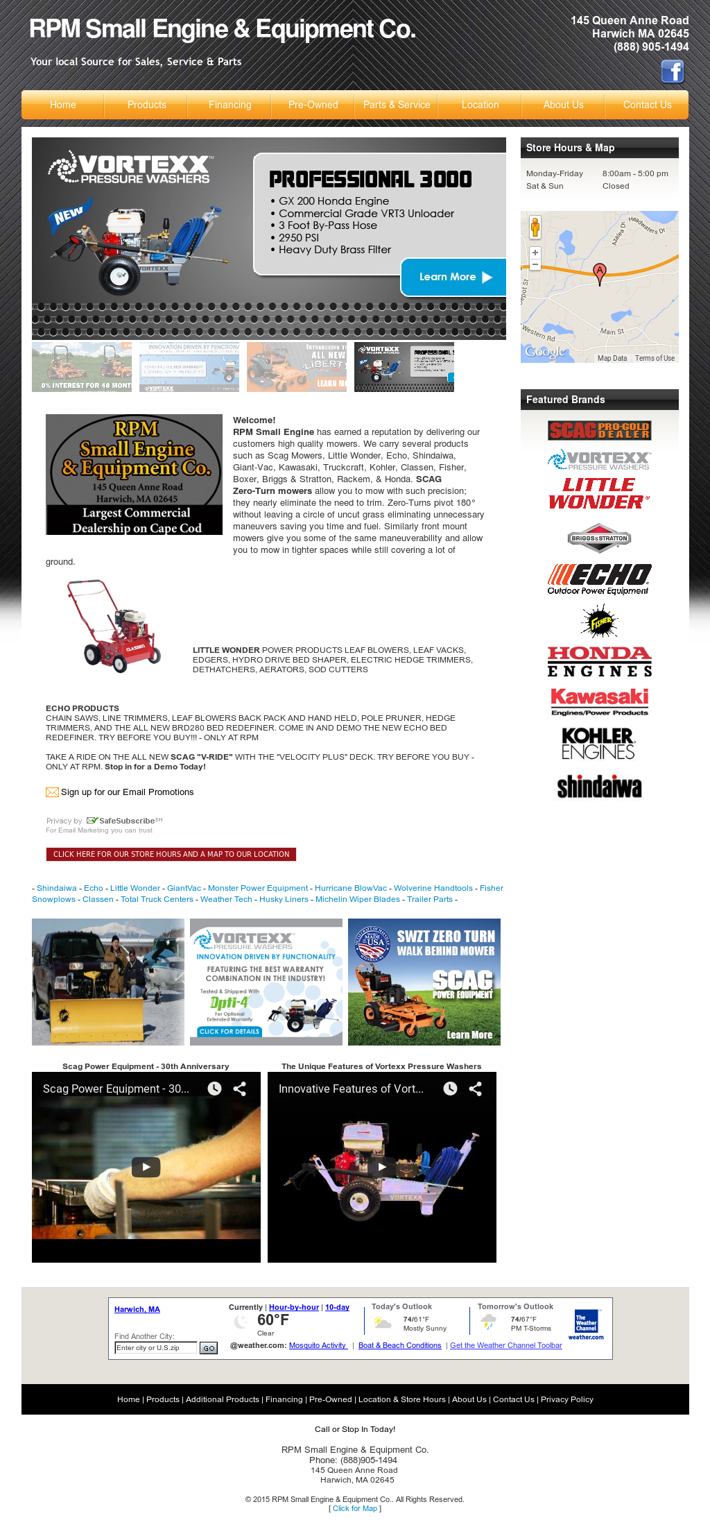 Rpm Small Engine & Equipment Competitors, Revenue and