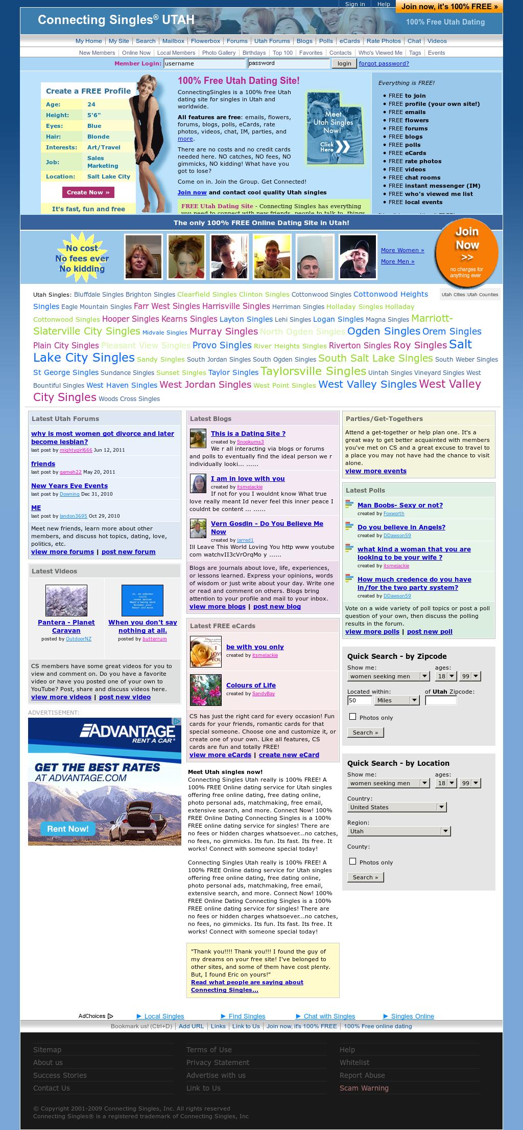 sa 100 free dating site
