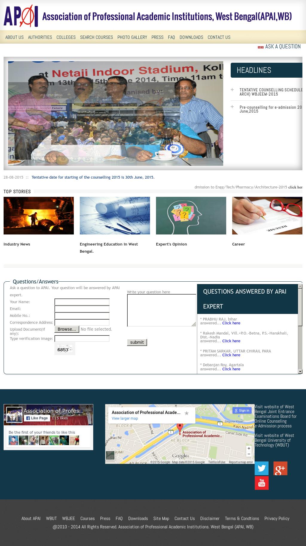 professional academic website