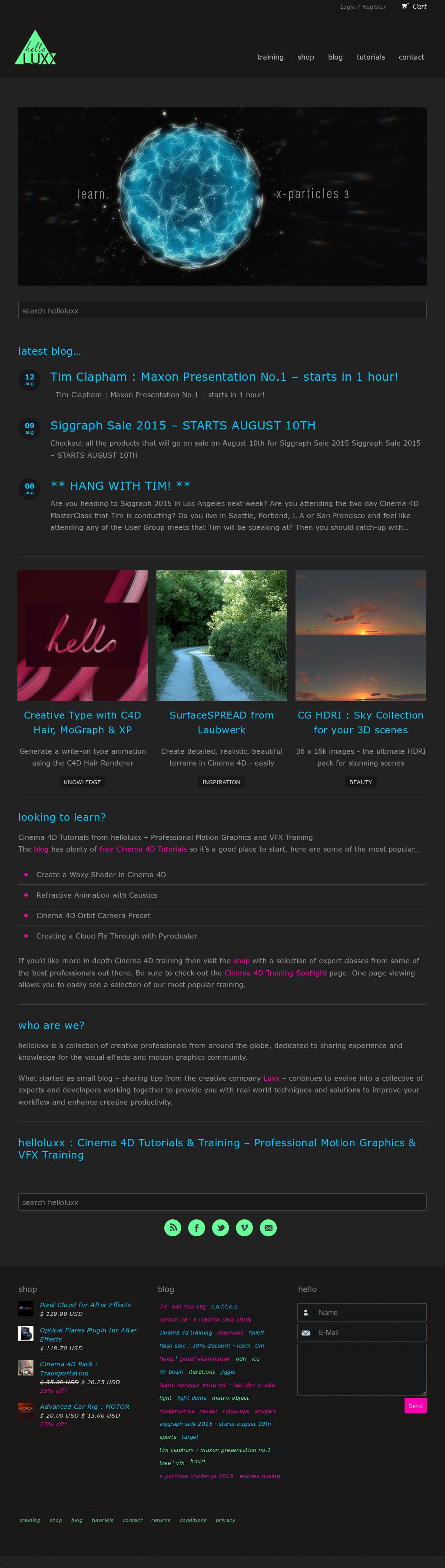 Owler Reports - Helloluxx Blog C4D R18 Voronoi Fracture Download