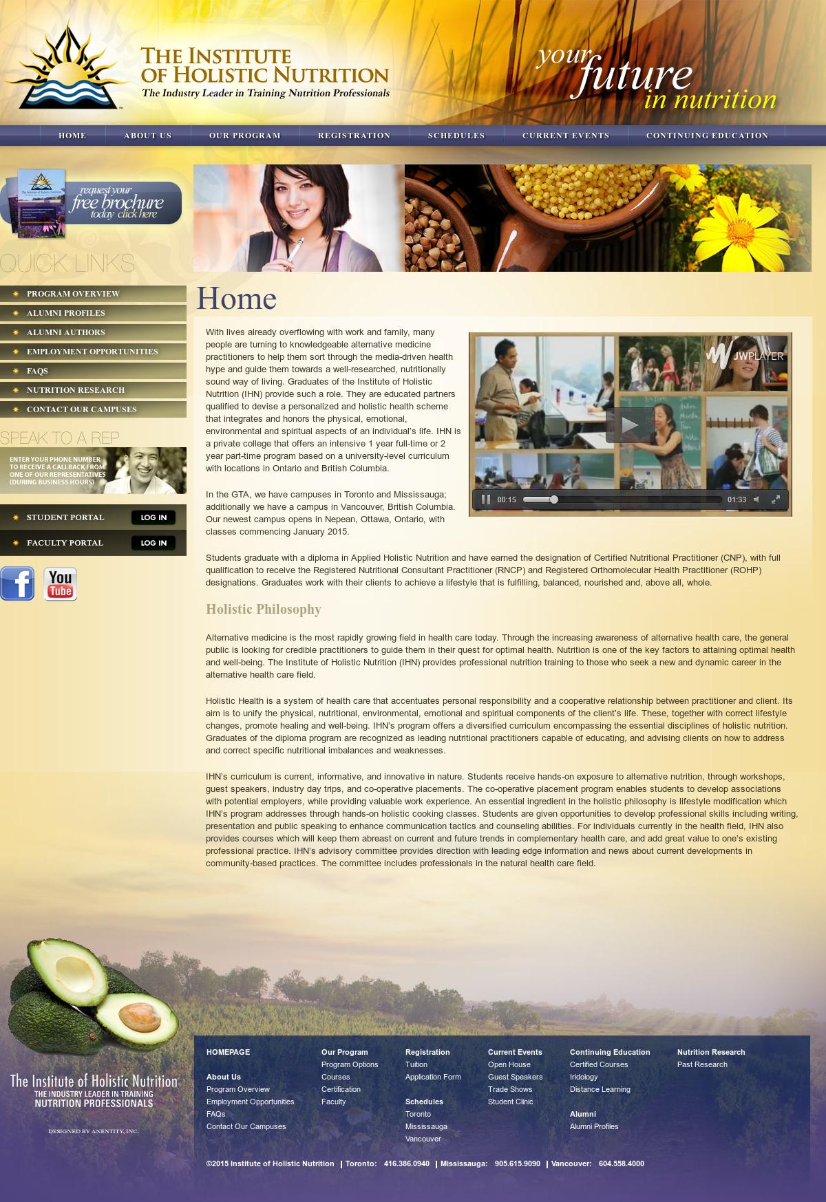 The Institute For Holistic Nutrition Competitors, Revenue