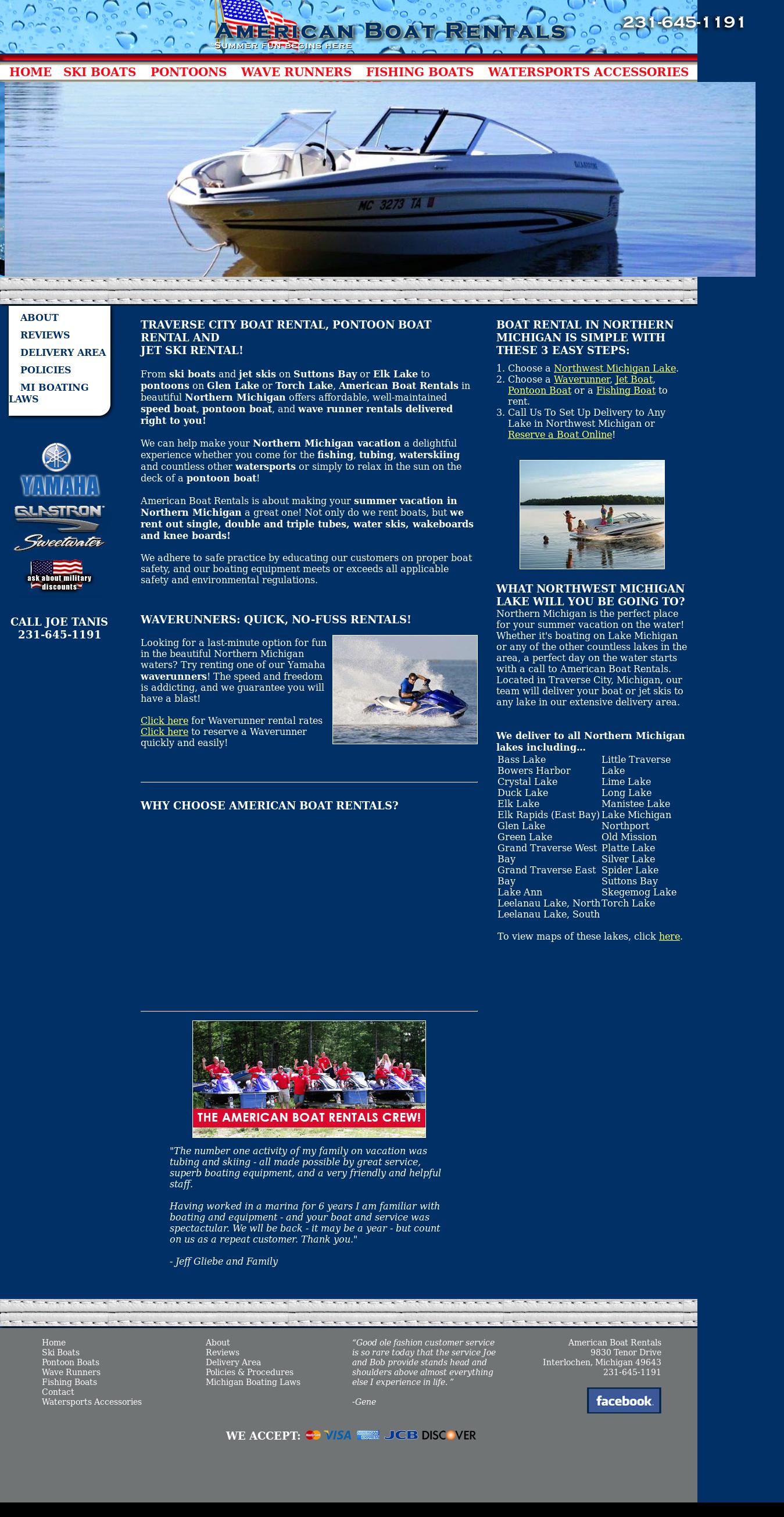 American Boat Rentals - Your Northern Michigan Boat Rental