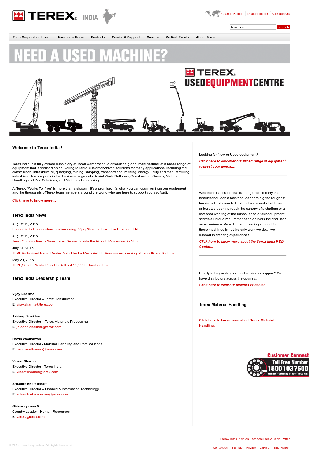 Terex Competitors, Revenue and Employees - Owler Company Profile