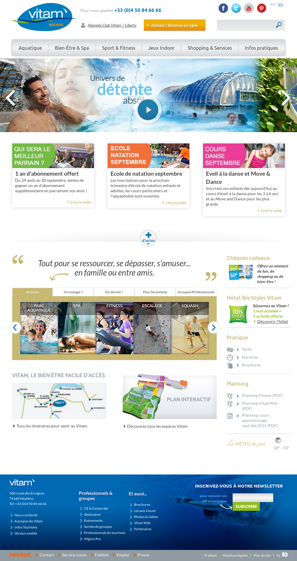 Vitam Parc Abonnement vitam competitors, revenue and employees - owler company profile