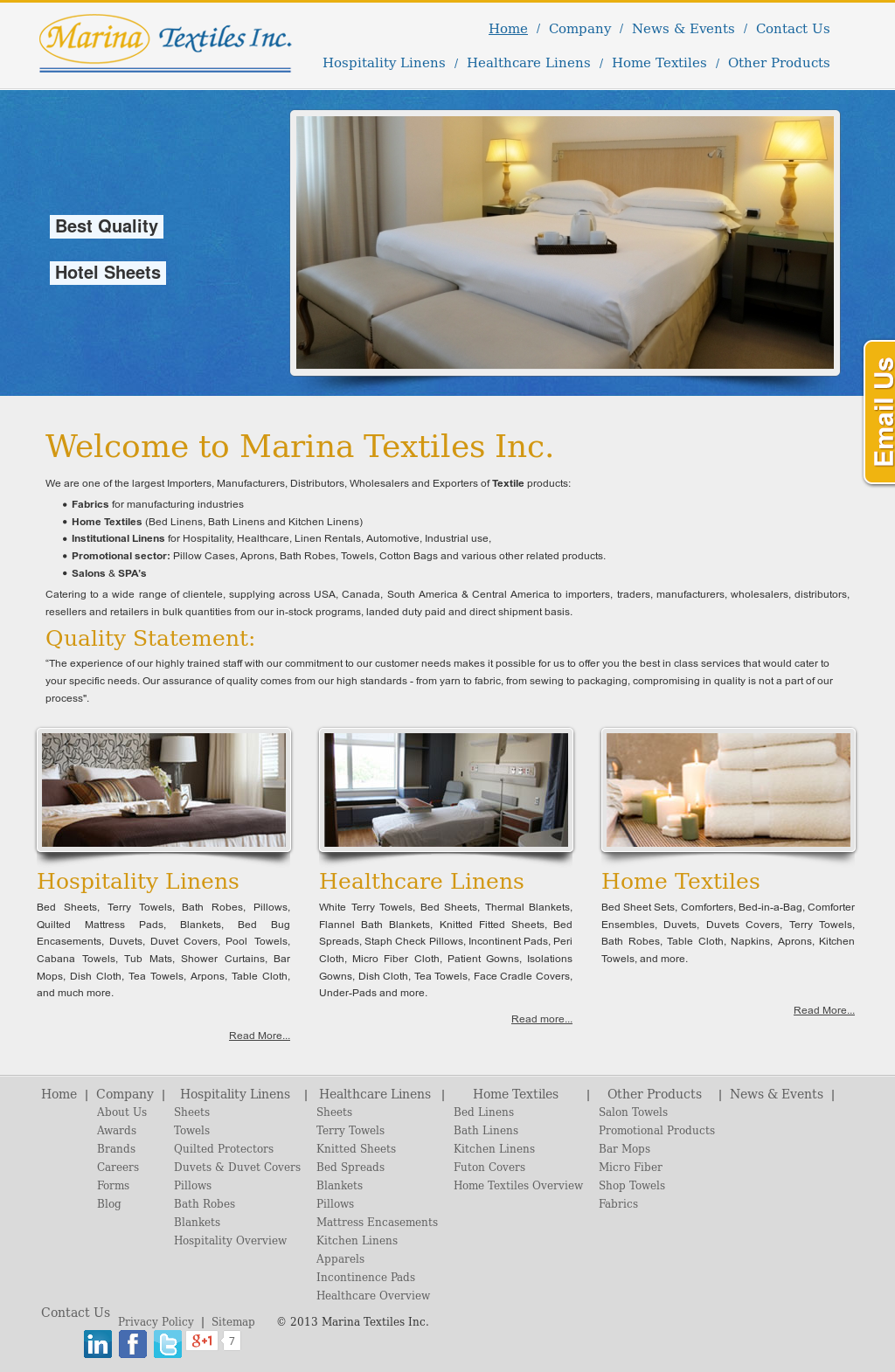 Marina Textiles Competitors, Revenue and Employees - Owler