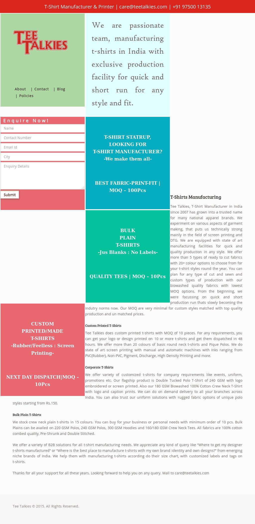 TeeTalkies Competitors, Revenue and Employees - Owler