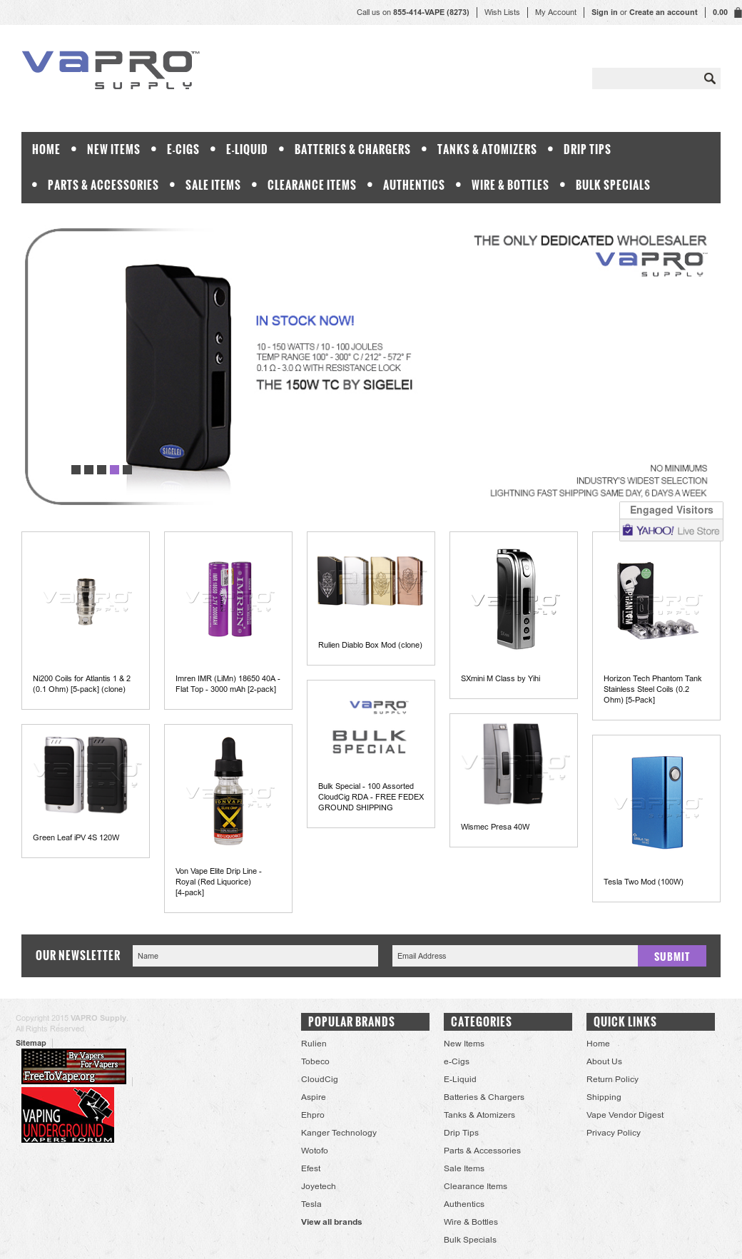 Vapro Supply Competitors, Revenue and Employees - Owler