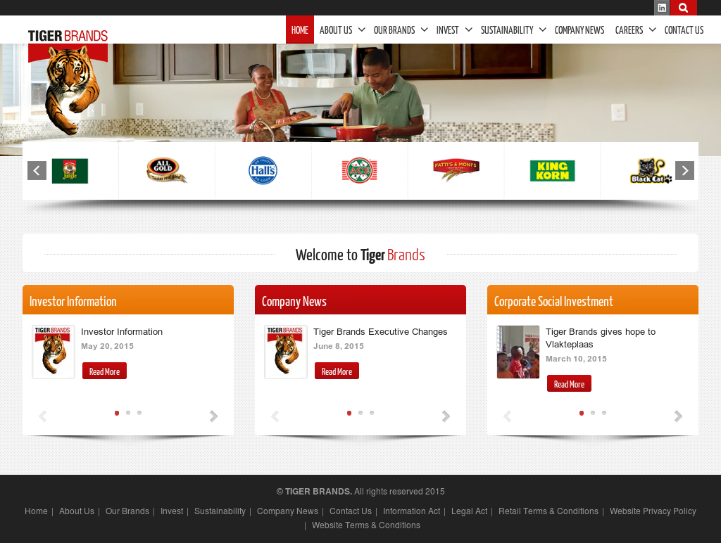Tiger Brands Limited S Competitors Revenue Number Of Employees Funding Acquisitions News Owler Company Profile