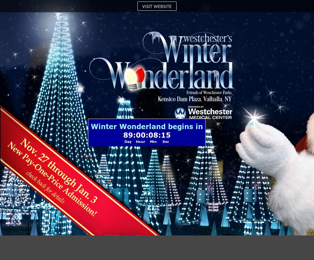 Westchester Winter Wonderland Competitors, Revenue and