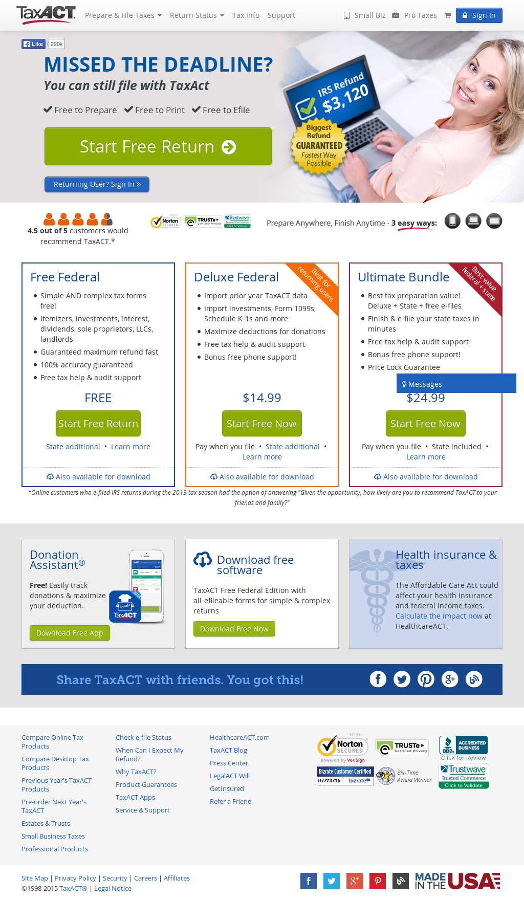 taxact free download