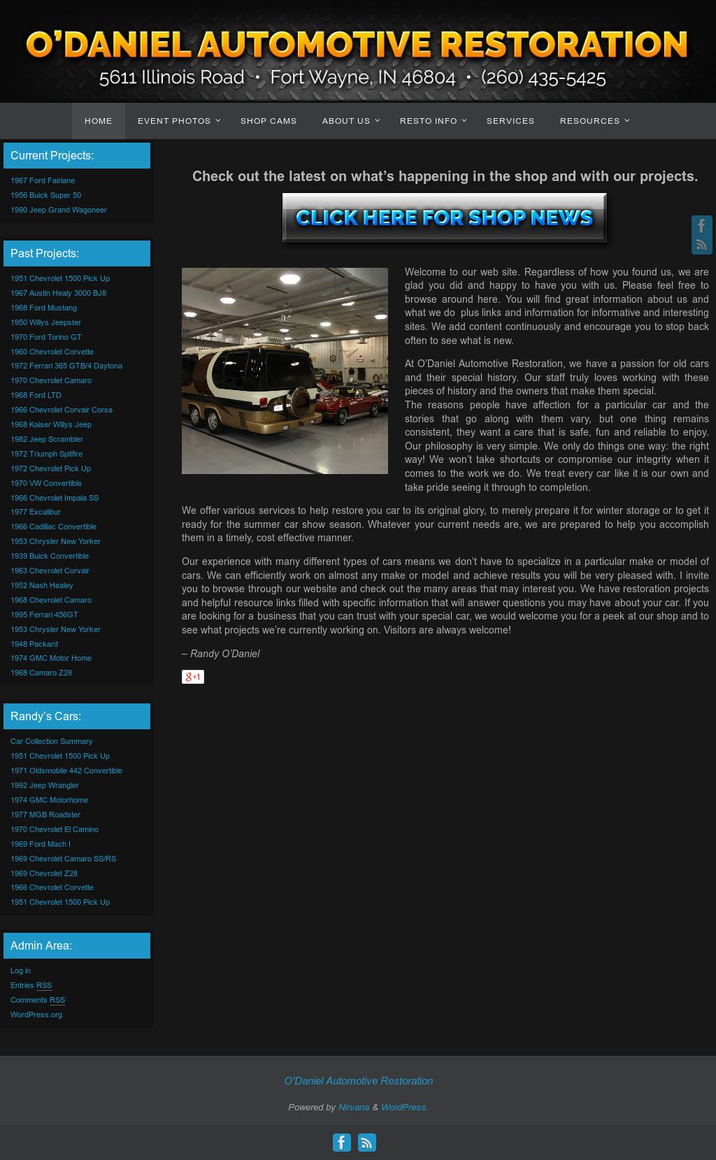 O'daniel Automotive Restoration Competitors, Revenue and