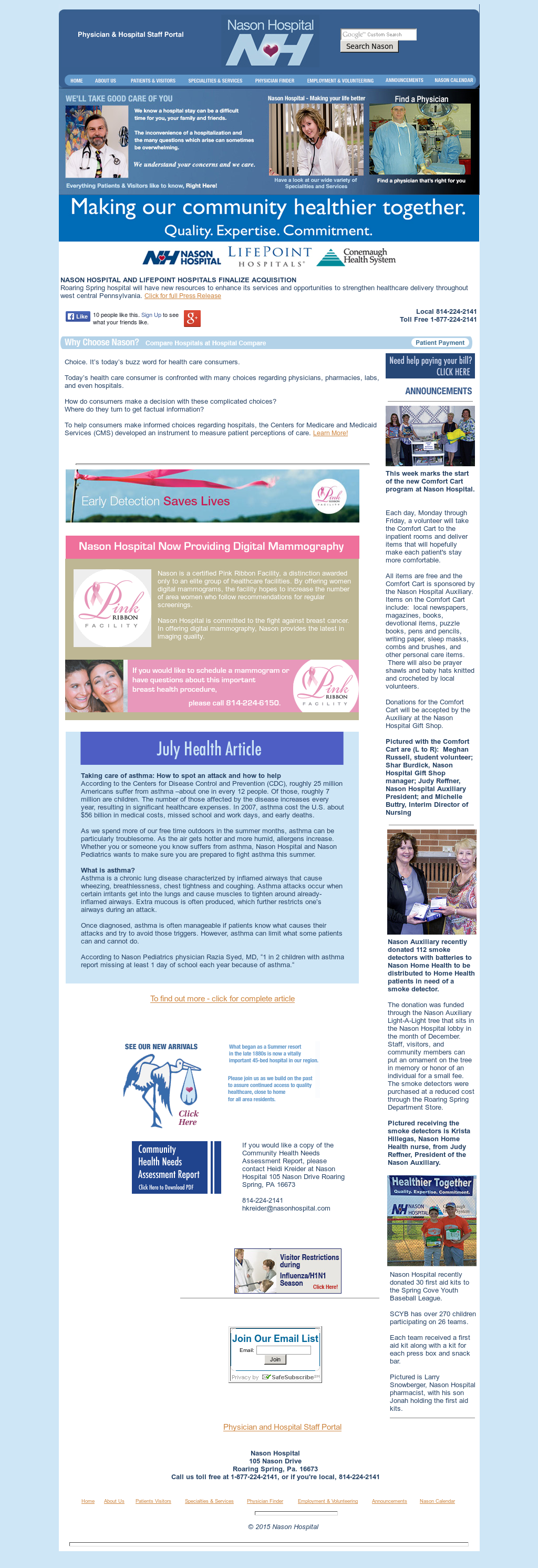 Nasonhospital Competitors, Revenue and Employees - Owler Company Profile