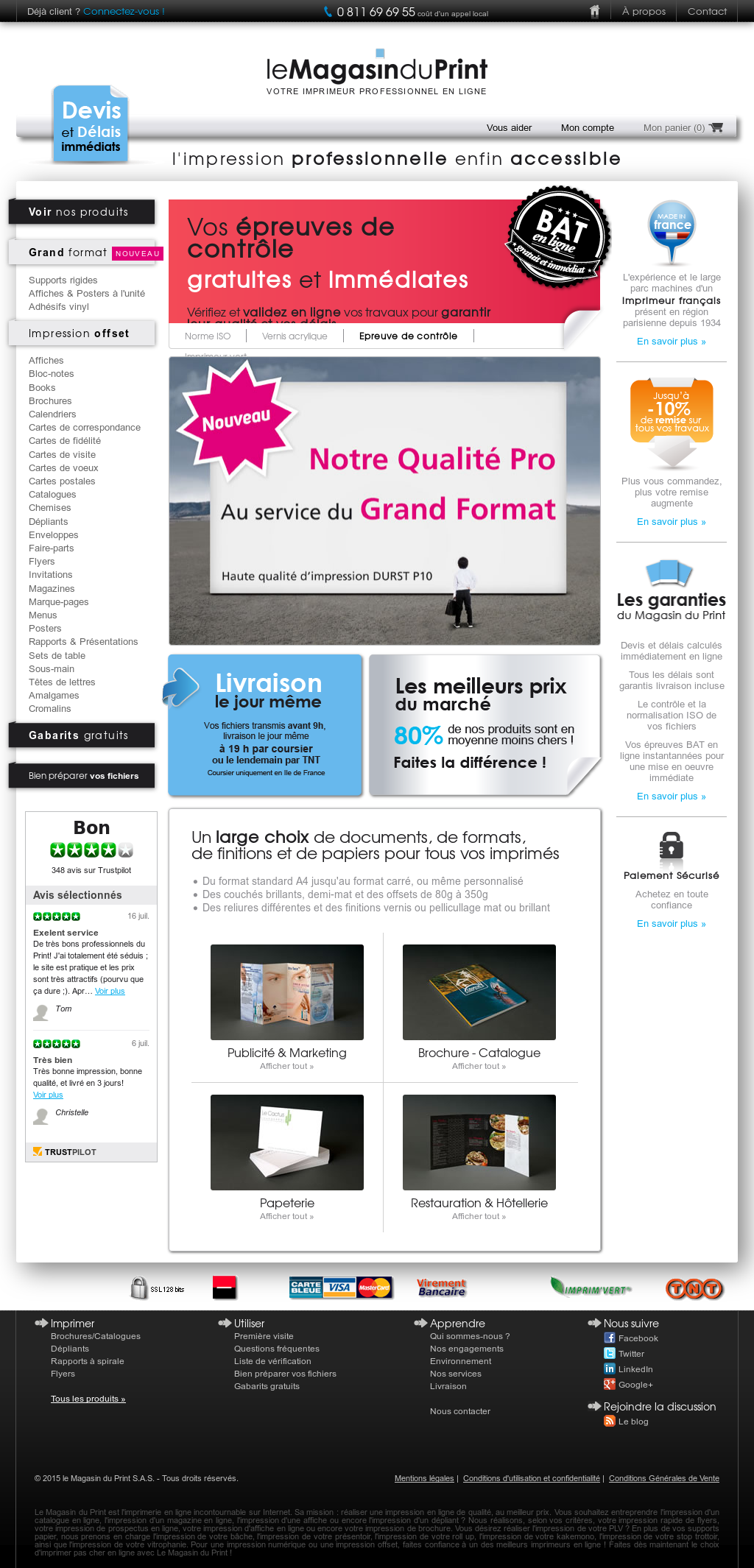 Le Magasin Du Print Competitors Revenue And Employees