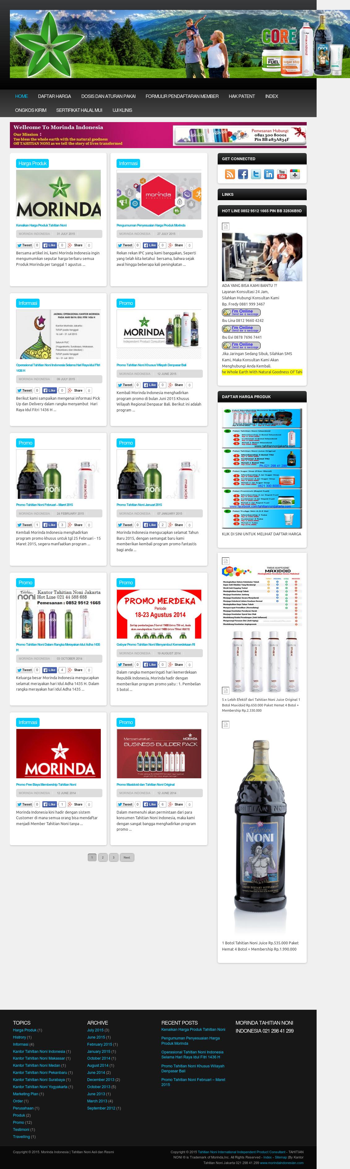 Morinda Indonesia Tahitian Noni Competitors Revenue And 1 Botol Employees Owler Company Profile