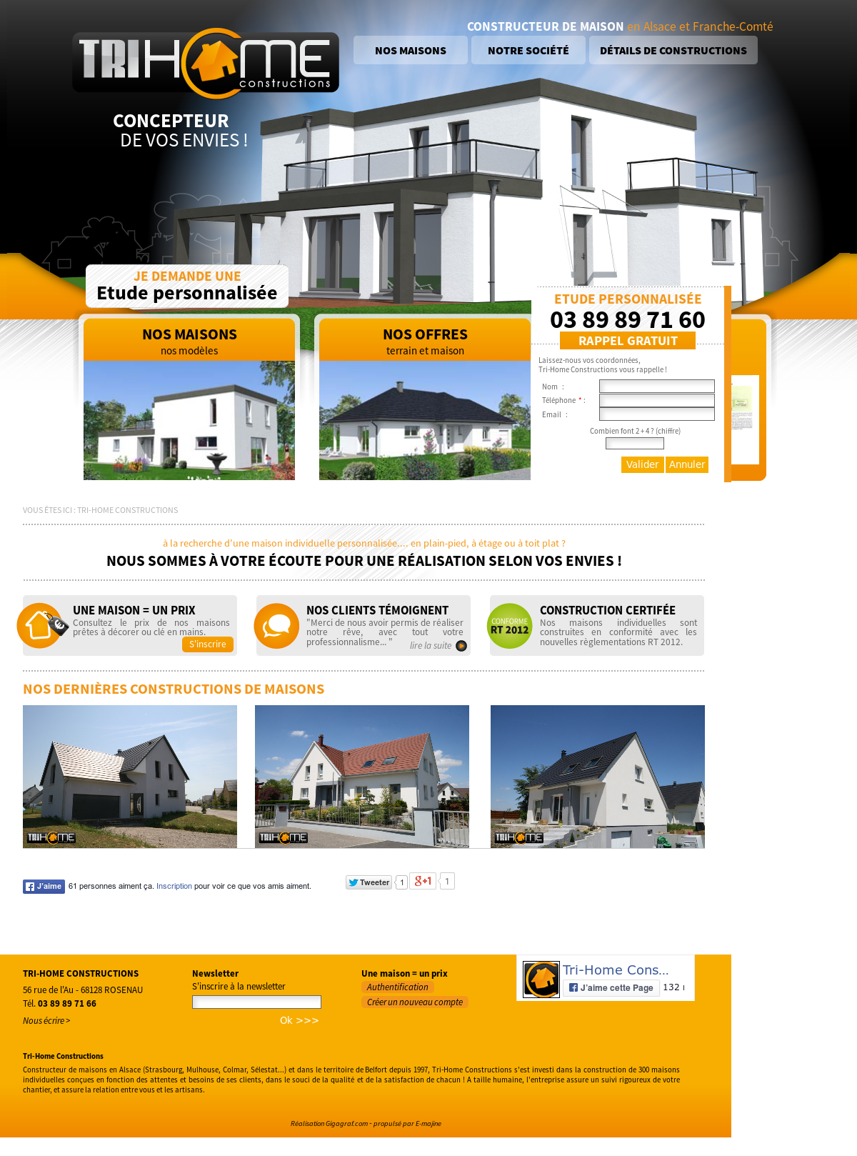 Tri Home Constructions Competitors Revenue And Employees