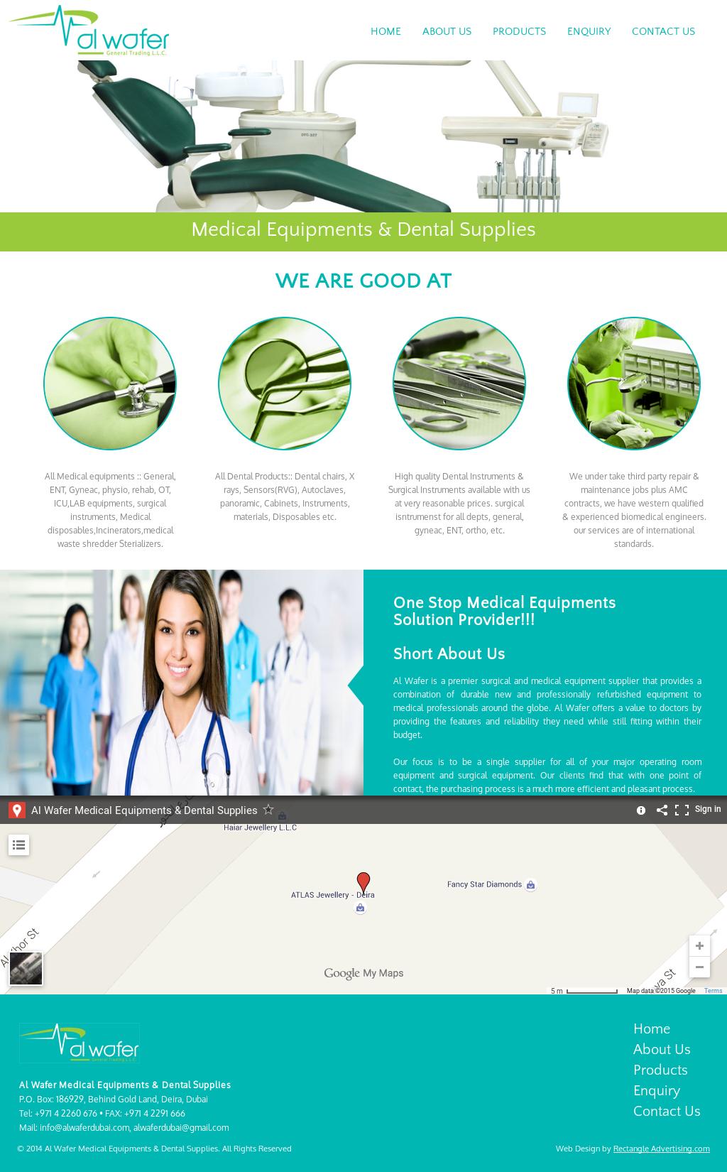 Al Wafer Medical Equipments & Dental Supplies Competitors