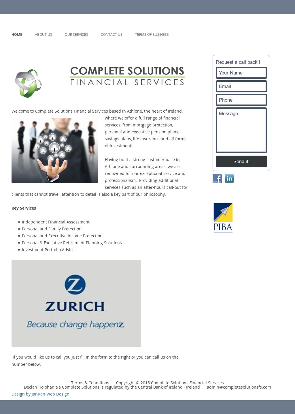 Complete Solutions Financial Services Competitors, Revenue