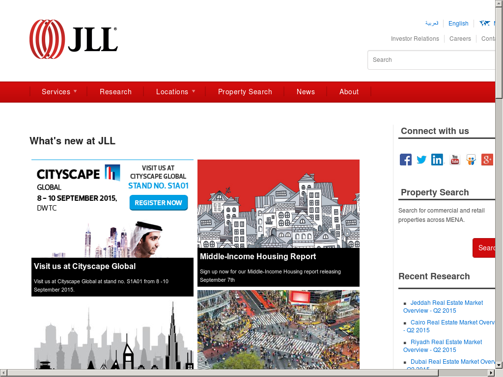 Jll Mena Competitors, Revenue and Employees - Owler Company