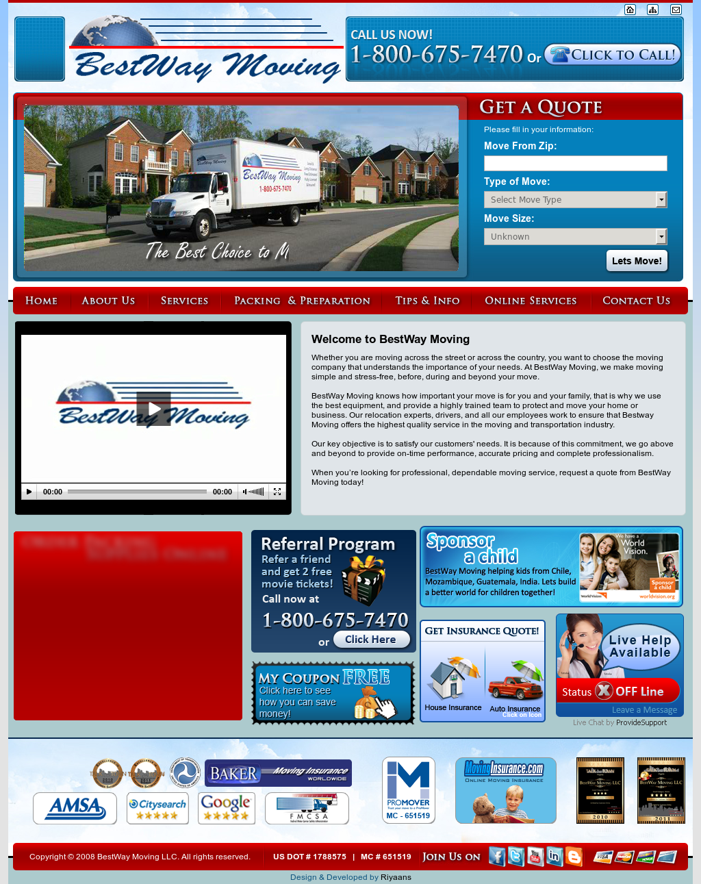 Bestway Moving Compeors, Revenue and Employees - Owler Company ...