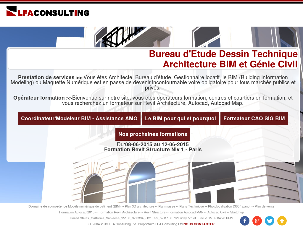Bureau Etude Structure Paris lfa consulting competitors, revenue and employees - owler