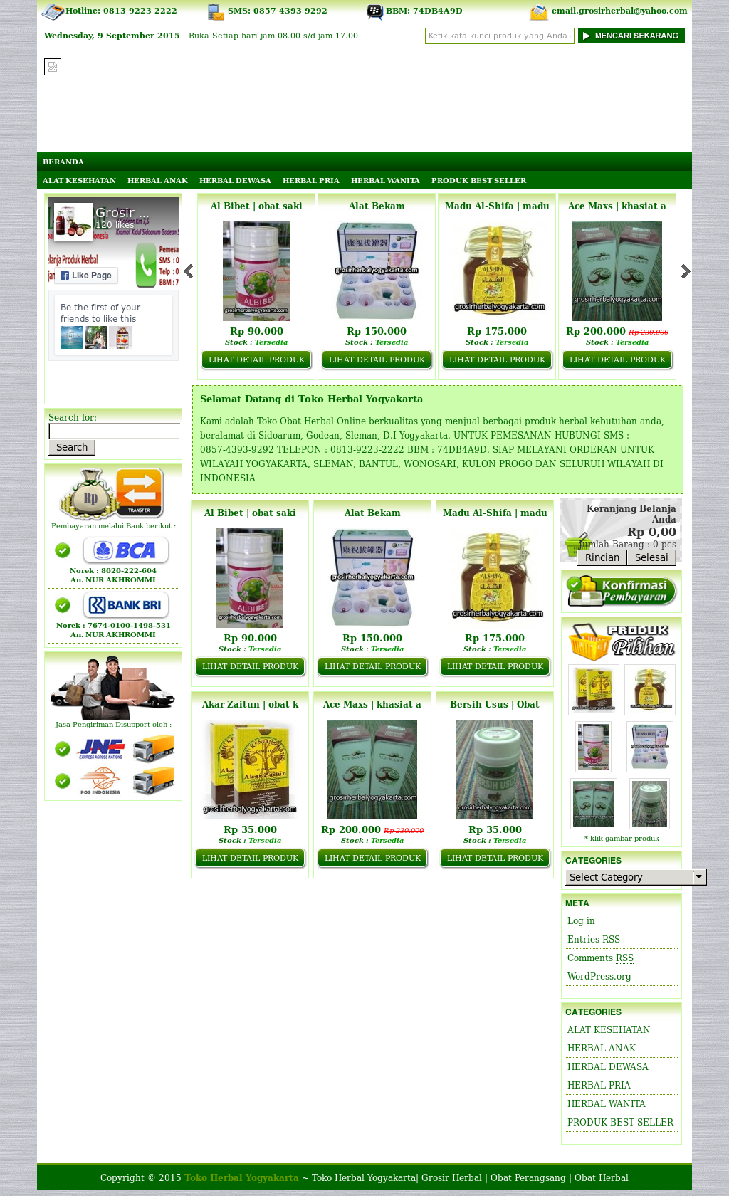 Grosir Herbal Jogja Competitors Revenue And Employees Owler Akar Zaitun Website History
