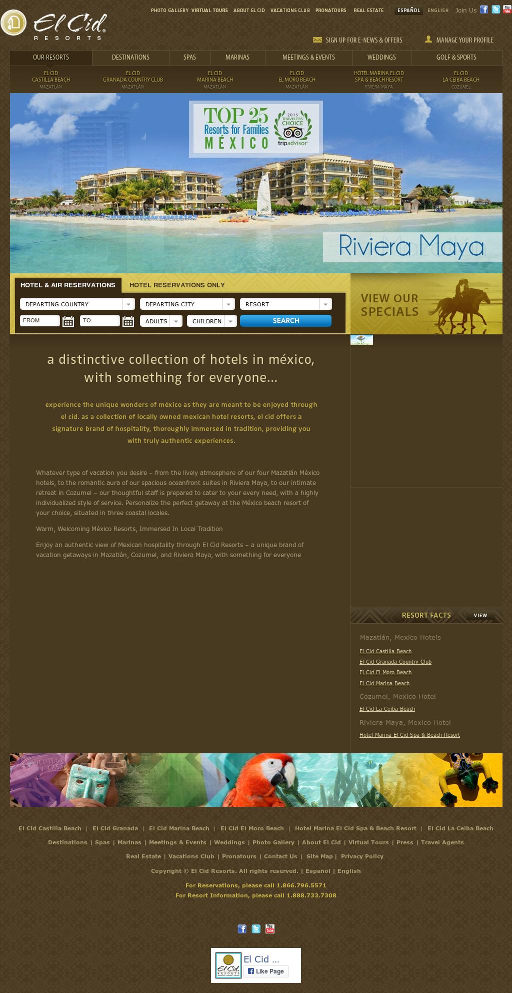 Owler Reports - El Cid Resorts: El Cid's New Event Hotel to Open in