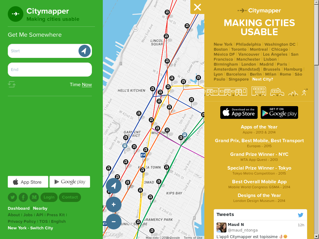 Citymapper petitors Revenue and Employees Owler pany Profile