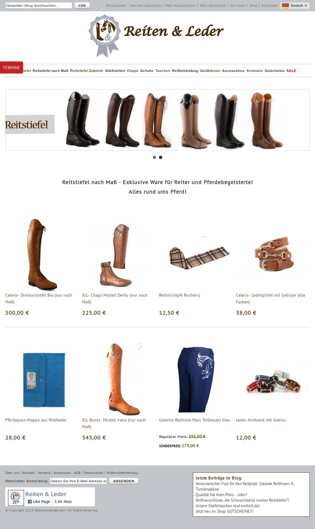 Owler Reports Reiten & Leder Blog Reißverschlüsse: die