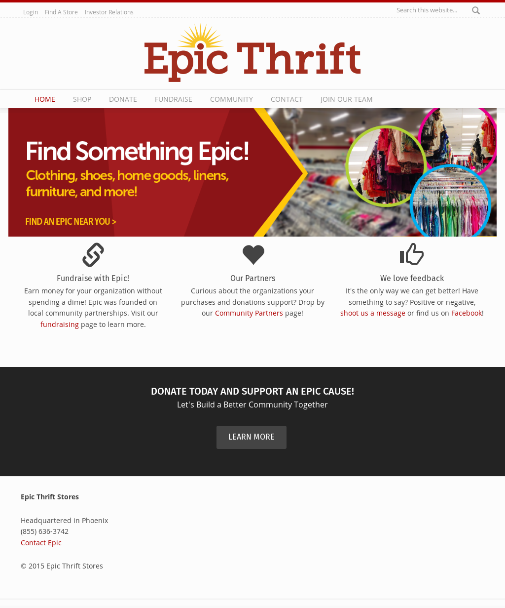 Epic Thrift Competitors, Revenue and Employees - Owler Company Profile