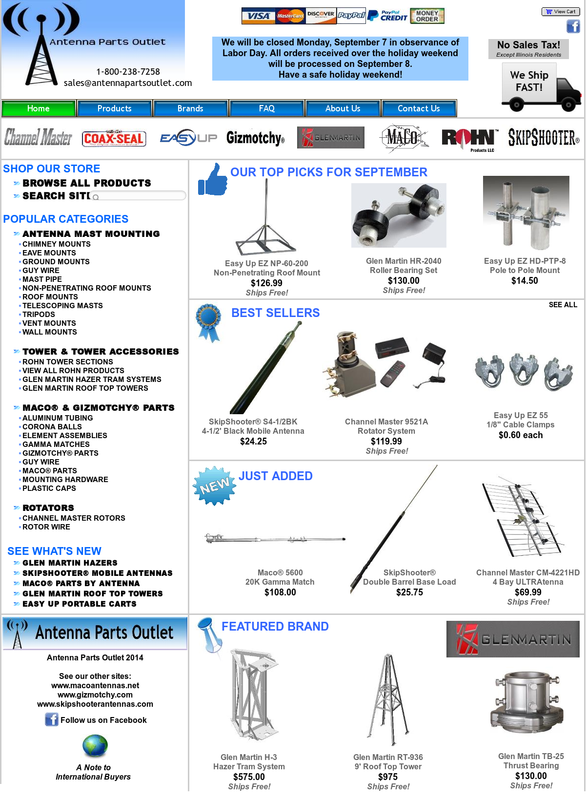 Antenna Parts Outlet Competitors, Revenue and Employees - Owler