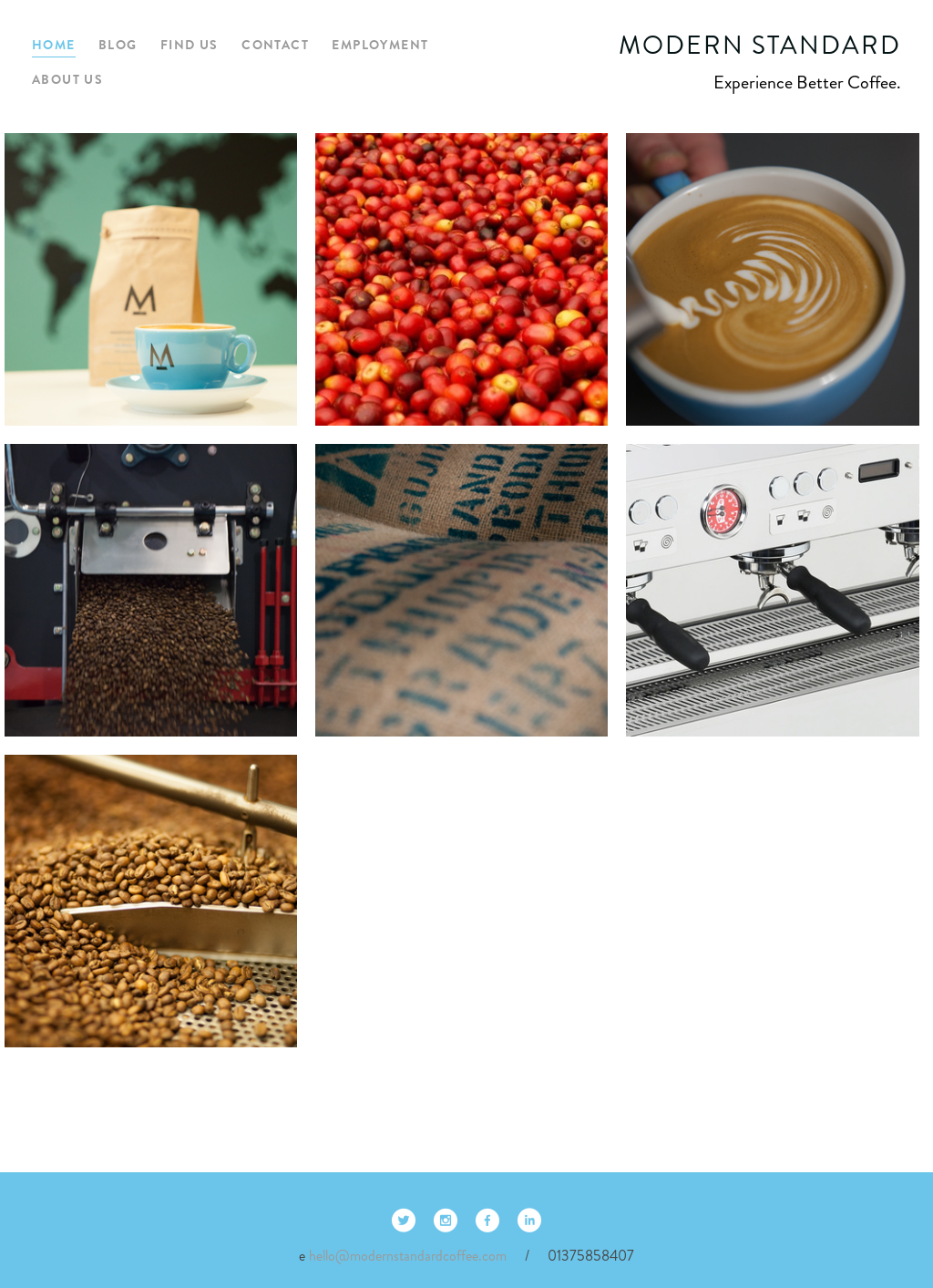 Modern Standard Coffee Competitors Revenue And Employees