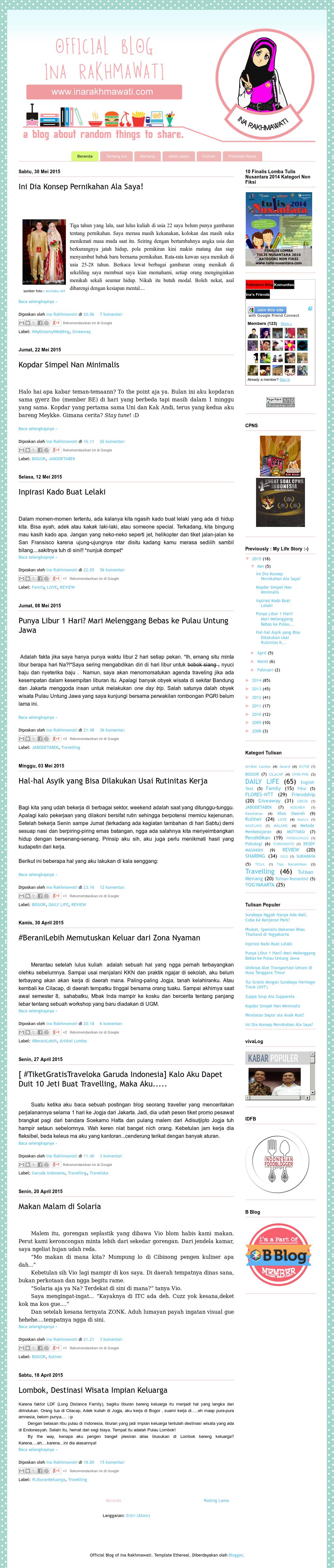 Inarakhmawati Competitors Revenue And Employees Owler Company Profile Aku April 2010