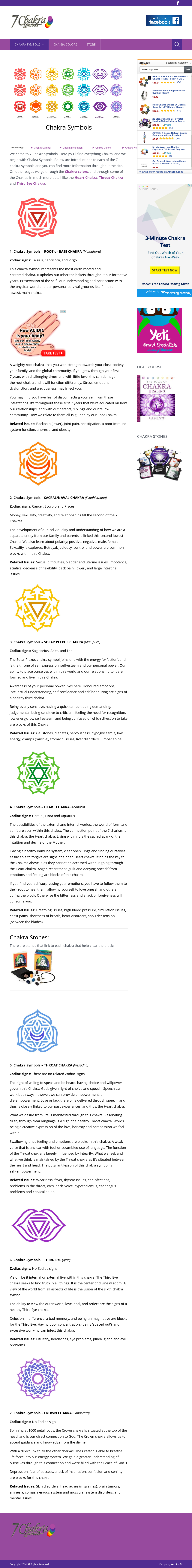7 Chakra Symbols Competitors, Revenue and Employees - Owler Company