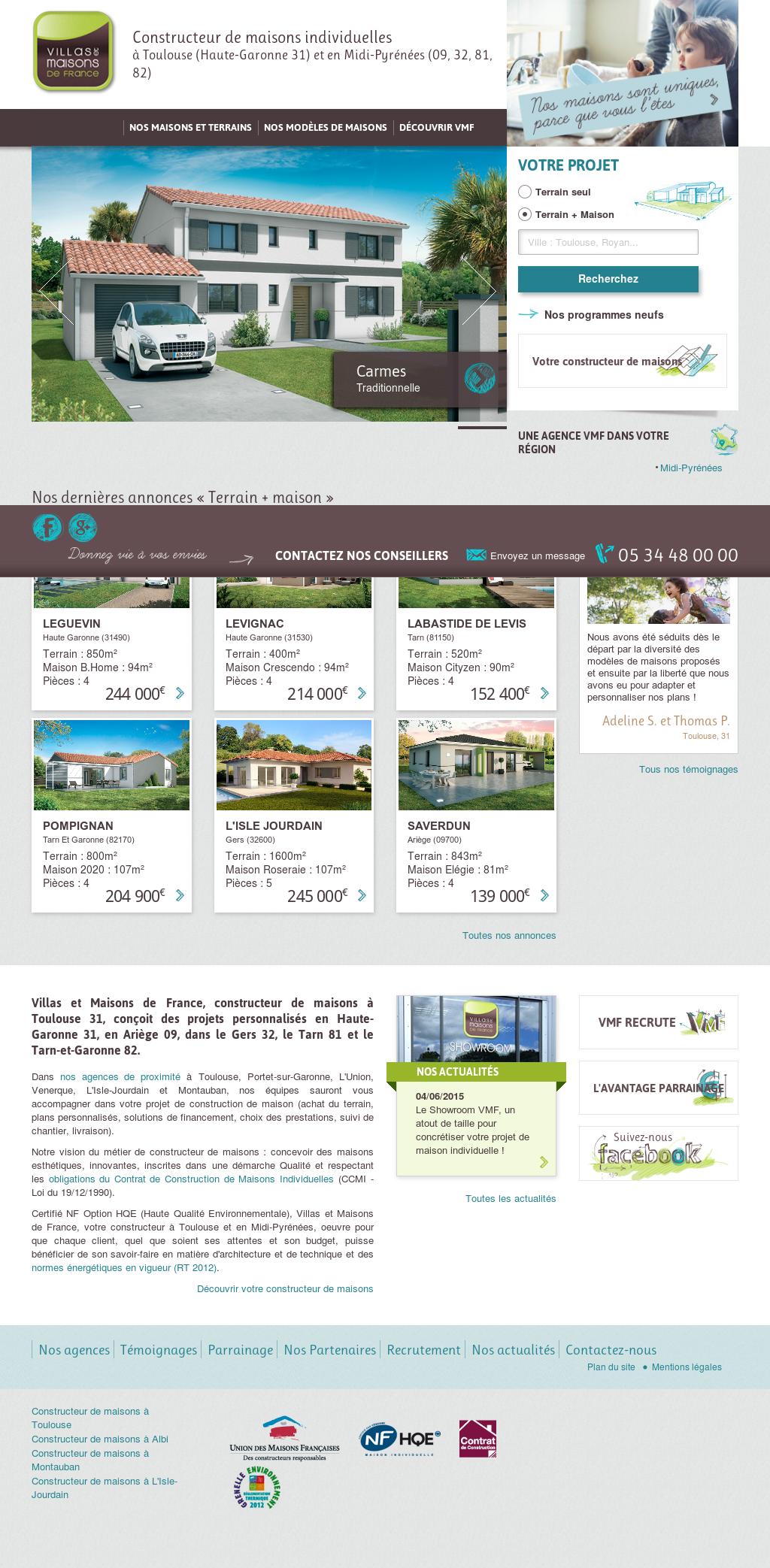 Villas Et Maisons De France Competitors Revenue And