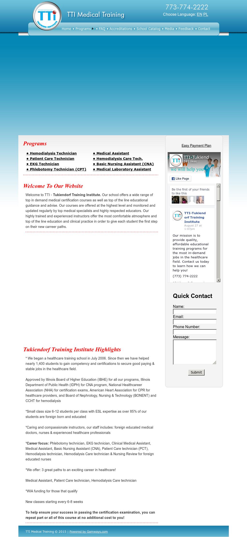 Tti Tukiendorf Training Institute Competitors Revenue And Employees